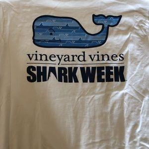 Vineyard Vines Shark Week Long Sleeve
